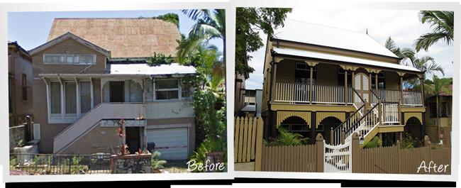 Brunswick St, Brisbane Major Home Renovation