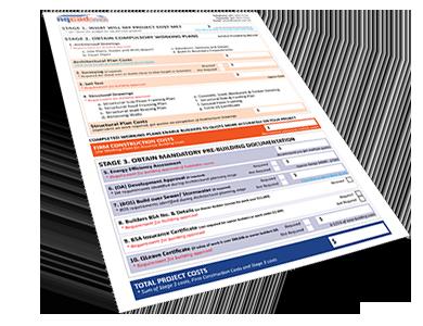 SEQ Building Design Total Project Costs Sheet