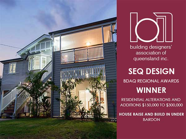 BDAQ Bardon Home Design Award