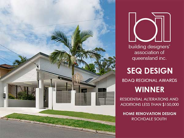 BDAQ Rochedale Home Design Award
